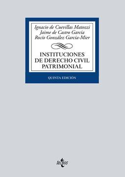 Instituciones de derecho civil patrimonial 2016