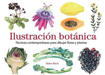 """Ilustración botánica """"Técnicas contemporáneas para dibujar flores y plantas"""""""