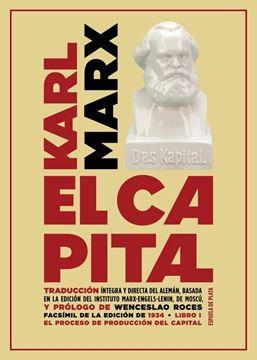 """El capital. Libro I """"Crítica de la Economía política. El proceso de producción del capital"""""""