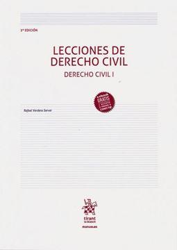 Imagen de Lecciones de Derecho Civil. Derecho Civil I, 2ª ed, 2019