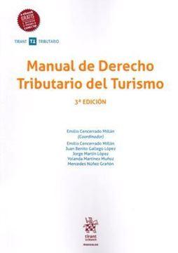 Imagen de Manual de Derecho Tributario del Turismo, 3ª ed, 2019