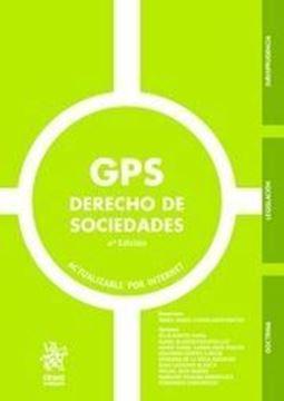 """Imagen de GPS Derechos de Sociedades. 4ª ed, 2019 """"Actualizable por Internet"""""""