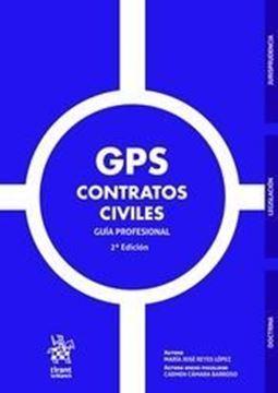 """Imagen de GPS Contratos Civiles, 2ª ed, 2019 """"Guía profesional"""""""