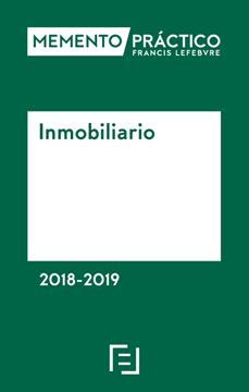 Imagen de Memento Práctico Inmobiliario 2018-2019