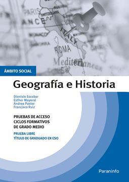 Temario pruebas de acceso a ciclos formativos de grado medio. Ámbito social. Geografía e Historia