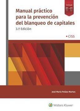 Imagen de Manual práctico para la prevención del blanqueo de capitales, 3ª ed, 2019