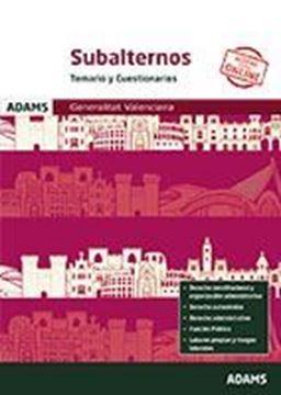 Imagen de Temario y Cuestionarios Subalternos de la Generalitat Valenciana, 2019