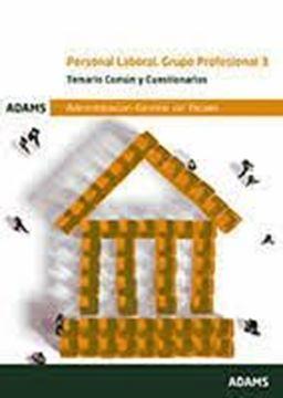 Imagen de Temario Común y Cuestionarios Personal Laboral. Grupo profesional 3 Administración General del Estado