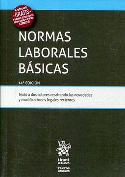Imagen de Normas laborales básicas, 14ª ed, 2019