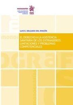 """Imagen de Derecho a la asistencia sanitaria de los extranjero, La  """"Limitaciones y problemas competenciales"""""""