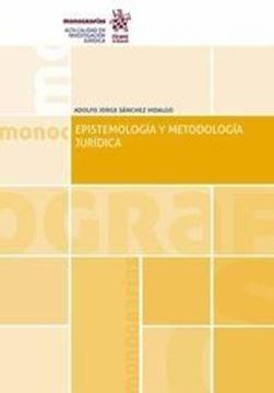 Imagen de Epistemología y Metodología Jurídica, 2019