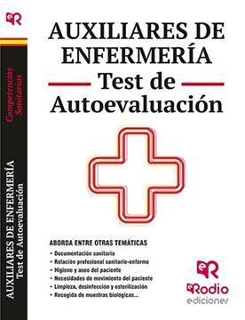 Auxiliares de Enfermería. Test de Autoevaluación. Competencias Sanitarias