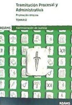 Imagen de Temario Tramitación procesal y Administrativa, promocion interna, 2019
