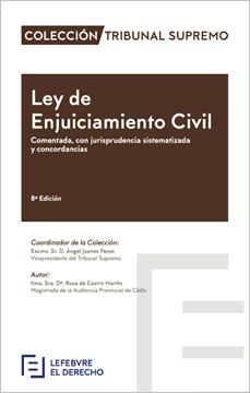 """Imagen de Ley de Enjuiciamiento Civil, 8ª ed, 2019 """"Comentada, con jurisprudencia sistematizada y concordancias"""""""