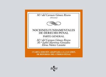 """Nociones Fundamentales de Derecho Penal, 4ª ed, 2019 """"Parte General"""""""