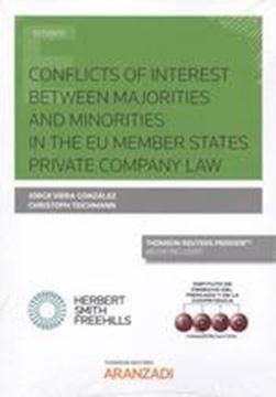 Conflicts of interest between majorities and minorities in private companies, 2019