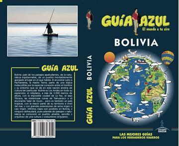 """Bolivia Guía Azul, 2019 """"El mundo a tu aire"""""""