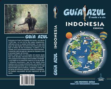 """Indonesia  esencial Guía Azul, 2019 """"El mundo a tu aire"""""""