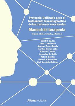 """Protocolo unificado para el tratamiento transdiagnóstico de los trastornos emocionales """"Manual del terapeuta, 2ª ed, 2019"""""""