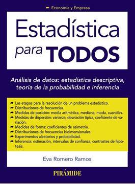 """Estadística para todos """"Análisis de datos: estadística descriptiva, teoría de la probabilidad e"""""""