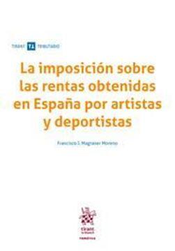 Imagen de Imposición sobre las rentas obtenidas en España por artistas y deportistas, La, 2019
