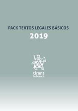 """Imagen de Pack Textos Legales Básicos 2019 """"Ley de Enjuiciamiento Civil, Criminal, Código Civil, Código Penal"""""""