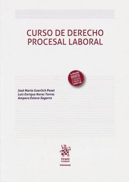 Imagen de Curso de Derecho Procesal Laboral, 2019