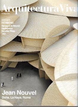 "Imagen de Arquitectura Viva Num.214 Mayo 2019 ""Jean Nouvel. Doha, La Haya, Roma"""