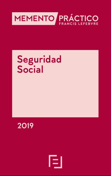 Imagen de Memento Práctico Seguridad Social 2019