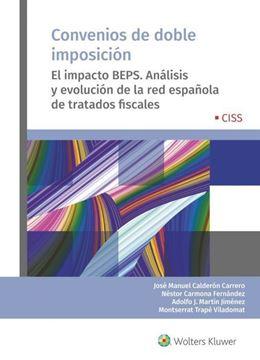 """Imagen de Convenios de doble imposición, 2019 """"El impacto BEPS. Análisis y evolución de la red española de tratados fiscales"""""""