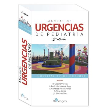 """Imagen de Manual de urgencias de pediatría. 2º Ed 2019 """"Hospital 12 de Octubre"""""""