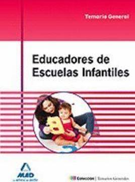 Imagen de Temario general Educadores de escuelas infantiles