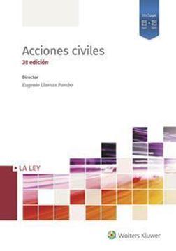 """Imagen de Acciones civiles (4 Tomos) 3ª ed, 2019 """"Persona, Sucesiones, Familia, Obligaciones, Contrato, Reales, Inmobiliario"""""""
