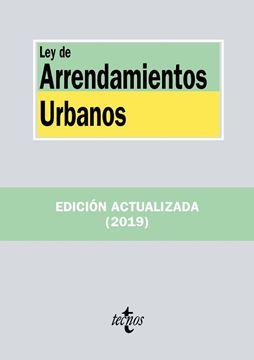 Ley de Arrendamientos Urbanos 2019