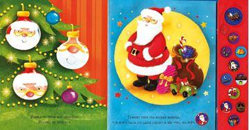 """La visita de Papá Noel """"Con 11 sonidos de Navidad"""""""