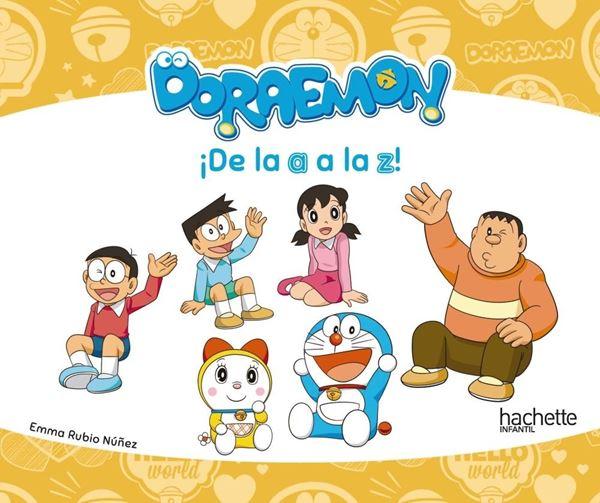 """¡De la a a la z! - Doraemon """"A partir de 4 años"""""""