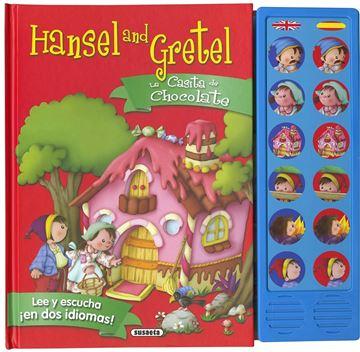 """La casita de chocolate - Hansel and Gretel """"Lee y escucha en dos idiomas"""""""