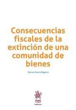 Imagen de Consecuencias Fiscales de la Extinción de una Comunidad de Bienes