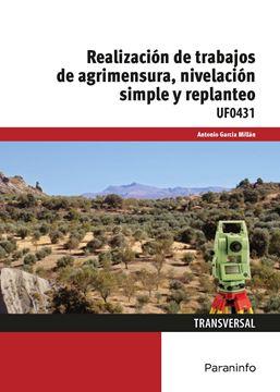 """Realización de trabajos de agrimensura, nivelación simple y replanteo """"UF0431"""""""