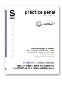 Drogas y alcohol como circunstancias modificativas de la responsabilidad penal
