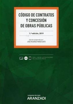 Imagen de Código de contratos y concesión de obras públicas (Papel + e-book), 2019