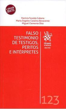 Imagen de Falso testimonio de testigos, peritos e intérpretes