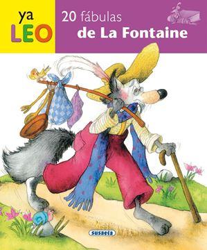 """20 fábulas de La Fontaine """"Ya leo"""""""