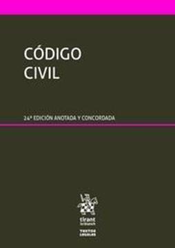 Imagen de Código Civil, 24ª ed, 2019