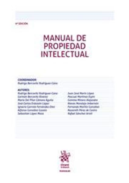 Imagen de Manua de Propiedad Intelectual, 9ª ed, 2019