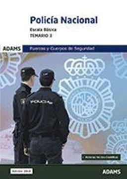 Imagen de Temario 3 Policia nacional, escala básica