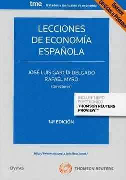 Imagen de Lecciones de Economia Española, 14ª ed, 2019