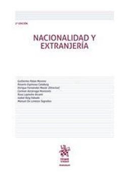 Imagen de Nacionalidad y Extranjeria 2ª ed, 2018
