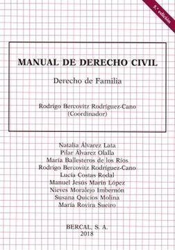 Imagen de Manual de Derecho Civil. Derecho de Familia 5ª ed, 2018