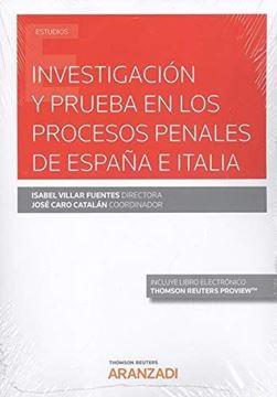Imagen de Investigación y prueba en los procesos penales de España e Italia, 2019